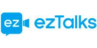 Logomarca ezTalks, uma plataforma para reuniões online