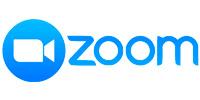 Logomarca Zoom, uma plataforma para reuniões online