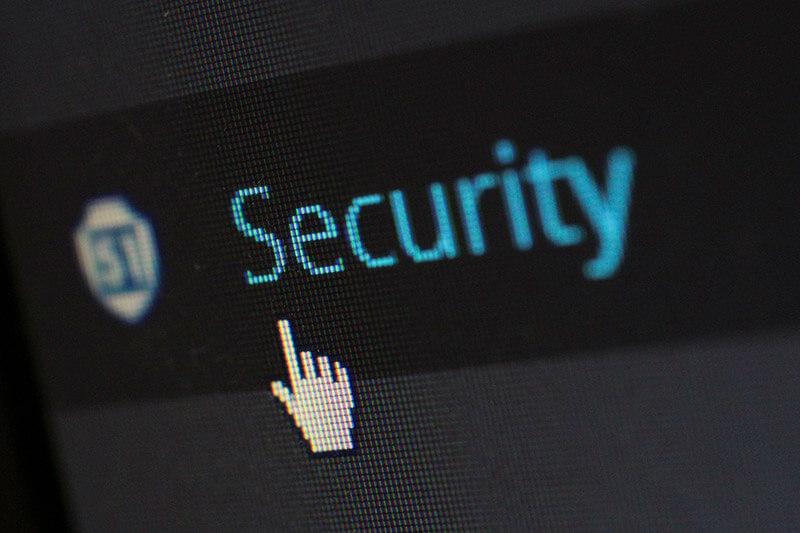 Texto Security, em inglês