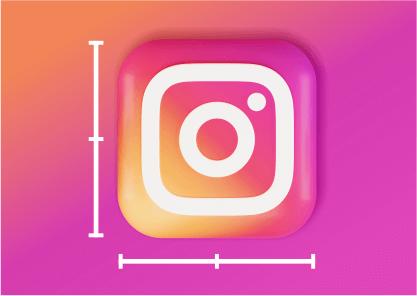 tamanho de imagem para Instagram