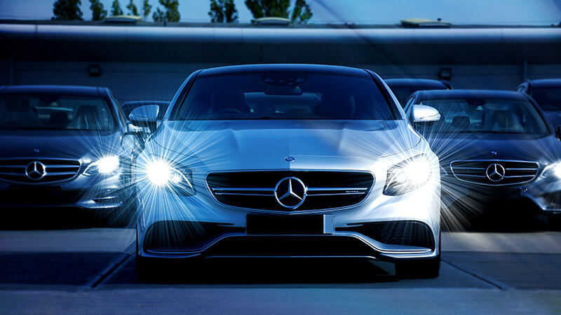 Carro da Mercedes